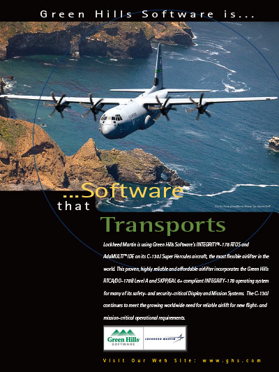 Lockheed-Martin, C-130J, SKPP EAL 6+, embedded security