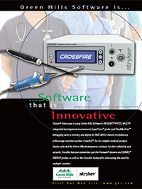 Stryker, Endoscopy, arthroscopy resection, crossfire